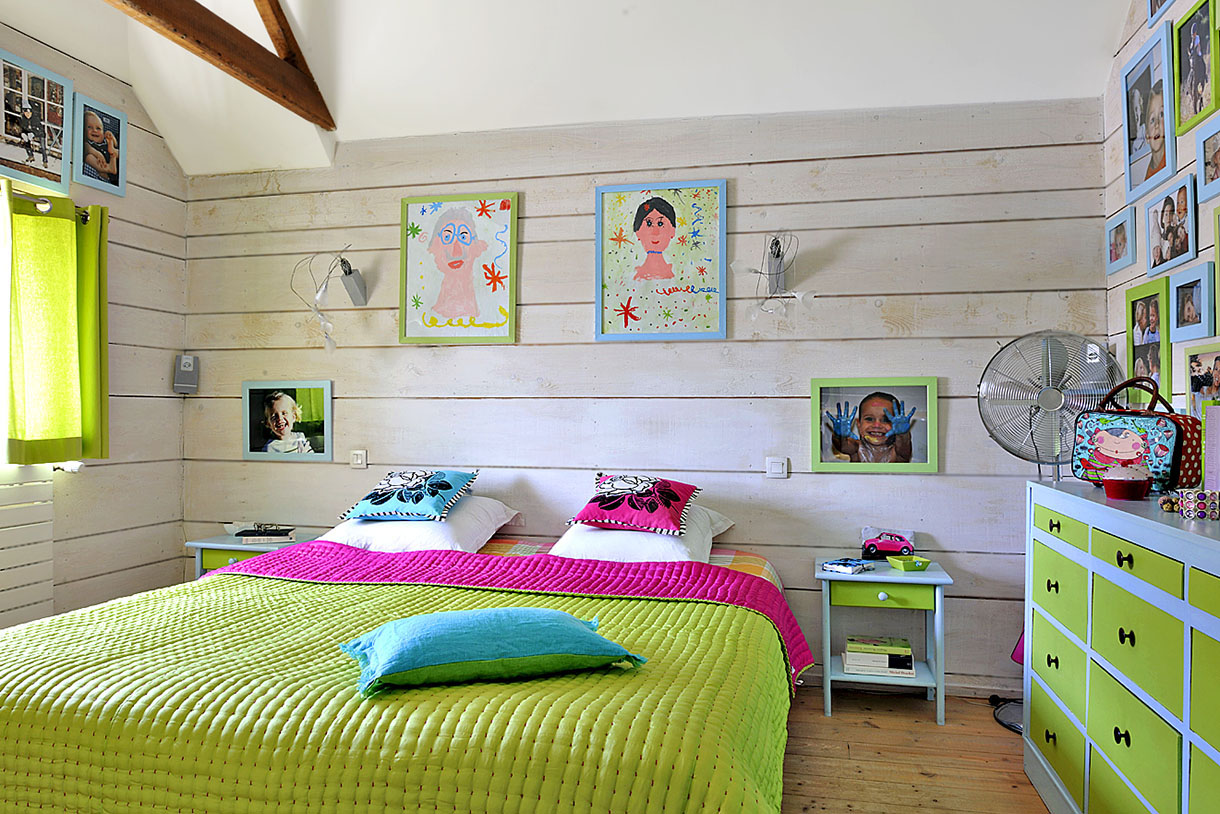 Idee Chambre Bebe Turquoise : Indogatecom  Chambre Verte Et Rouge