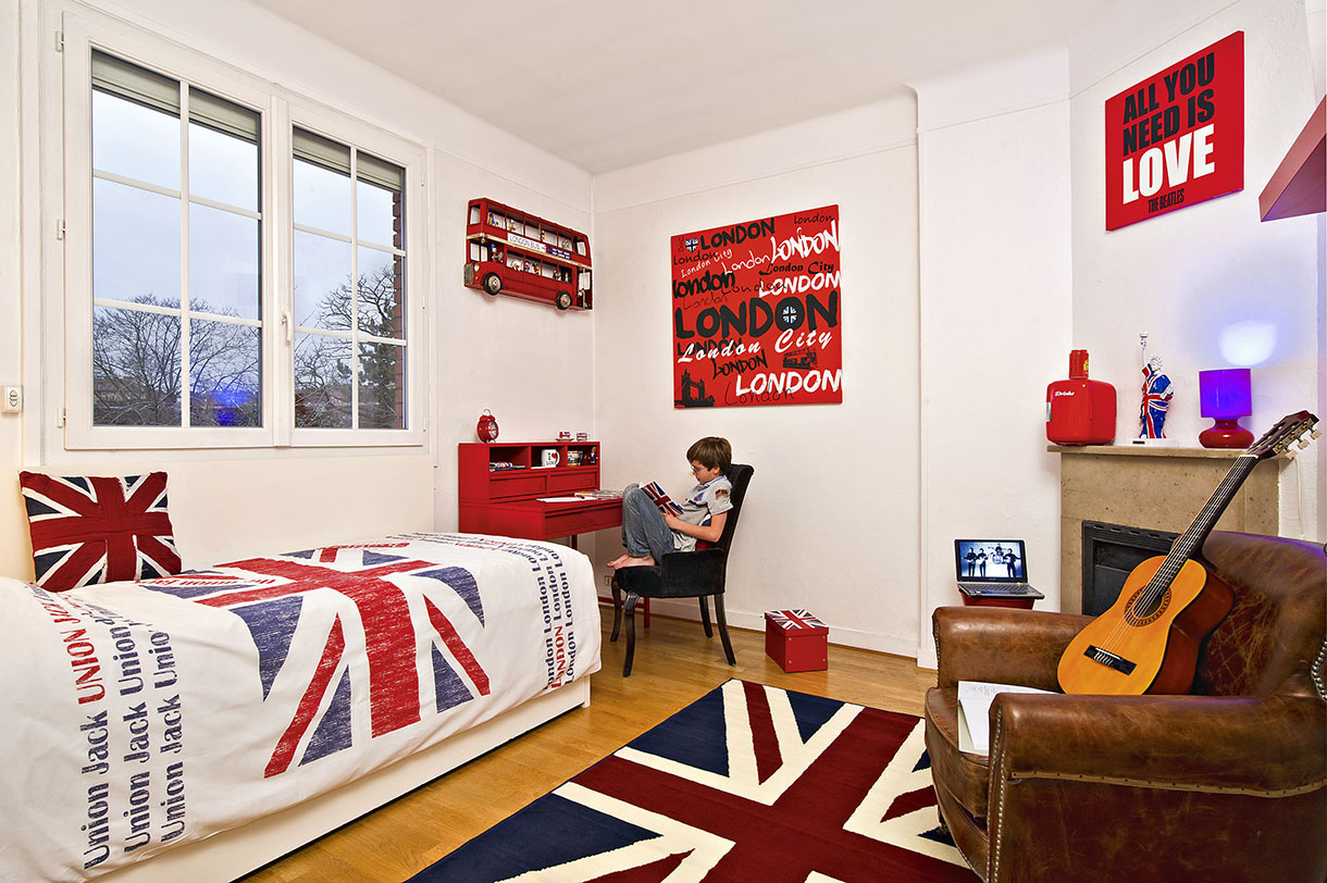 D co chambre london ado - Idee deco chambre london ...