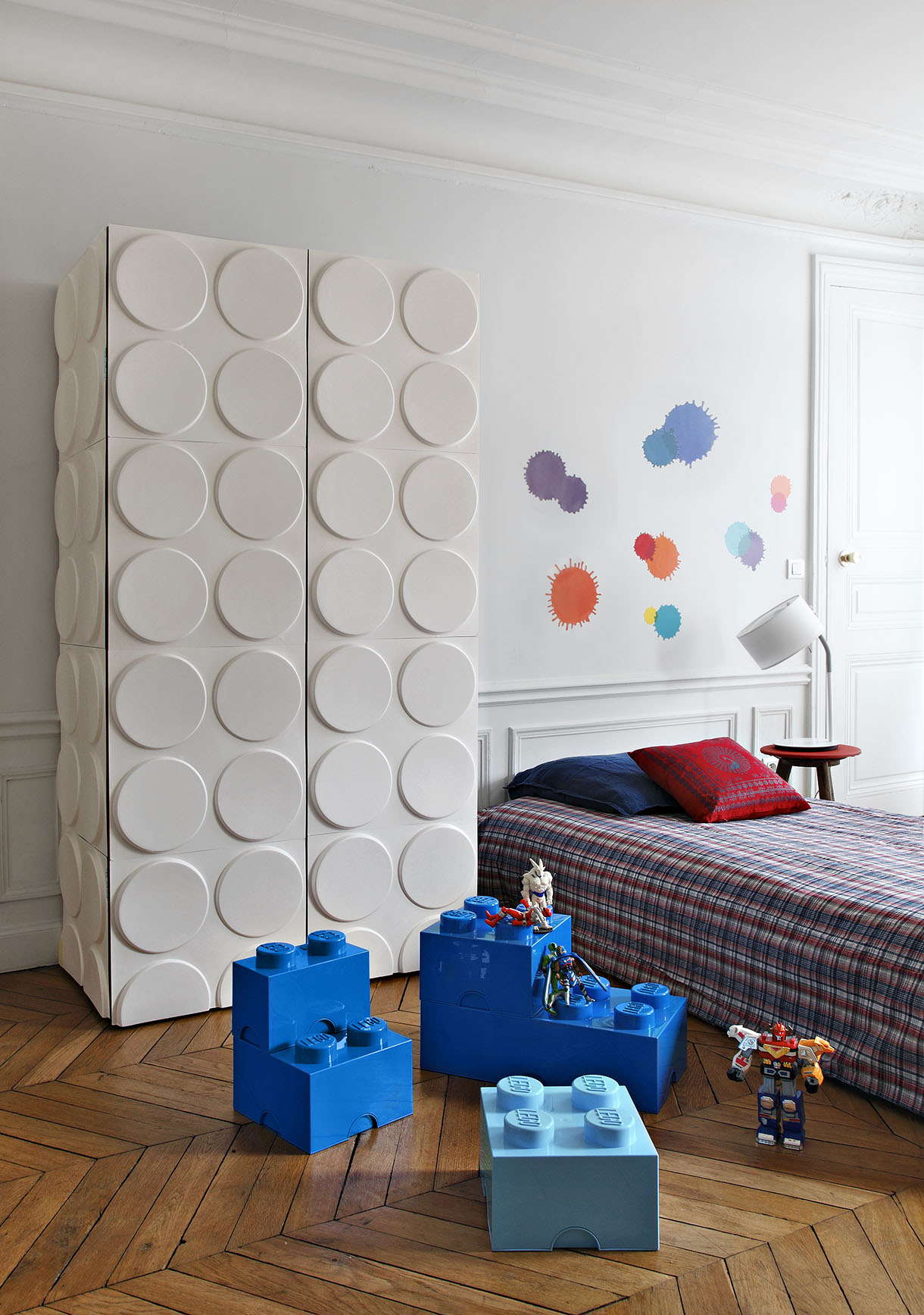 un air de lego votre armoire maison cr ative. Black Bedroom Furniture Sets. Home Design Ideas
