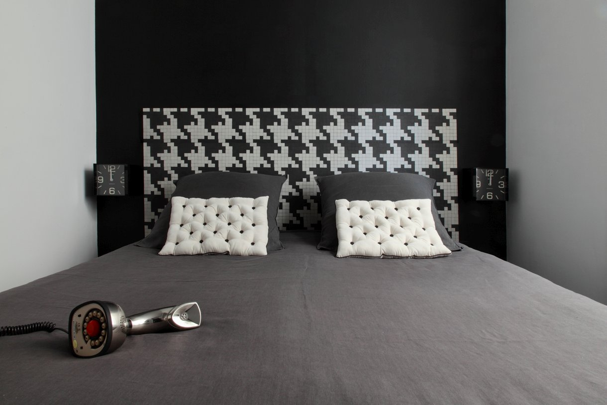 fabriquer une t te de lit originale. Black Bedroom Furniture Sets. Home Design Ideas