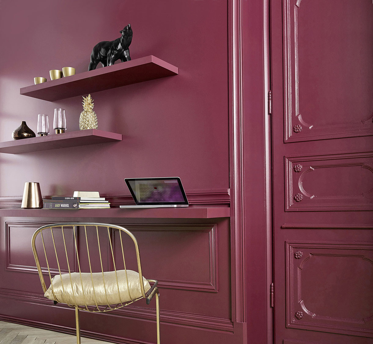 le rouge invitez une couleur fruit e dans votre d co maison cr ative. Black Bedroom Furniture Sets. Home Design Ideas