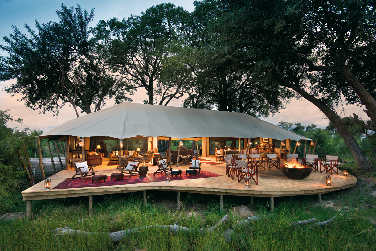 glamping luxe
