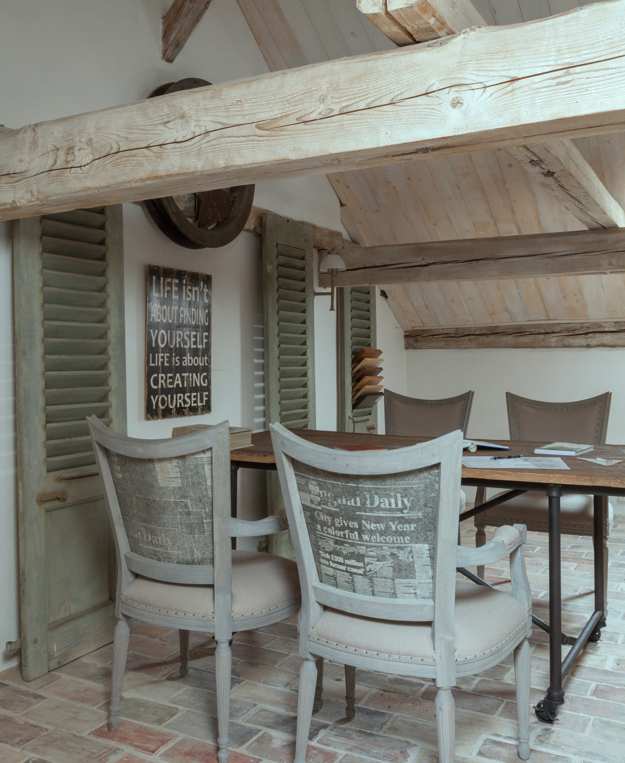 ferme r nov e visite d 39 une ancienne ferme restaur e maison cr ative. Black Bedroom Furniture Sets. Home Design Ideas