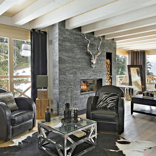 ambiance chalet les meilleures id es deco style montagne maison cr ative. Black Bedroom Furniture Sets. Home Design Ideas