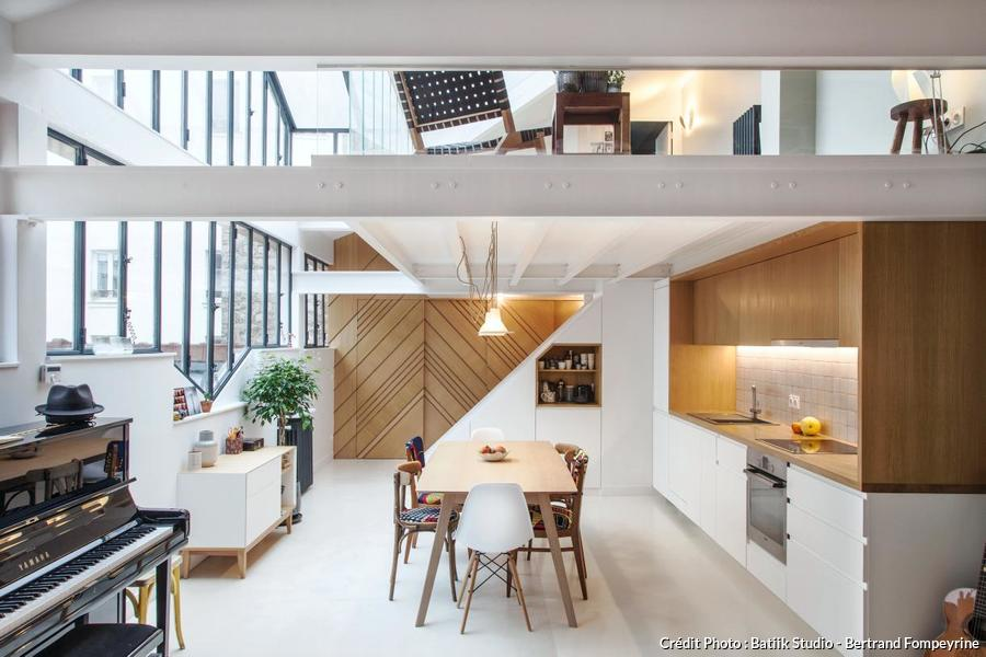 20 Idees D Amenagement Sous Une Mezzanine 2018 Maison Creative
