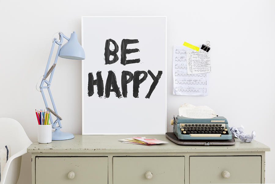 be happy love creative people