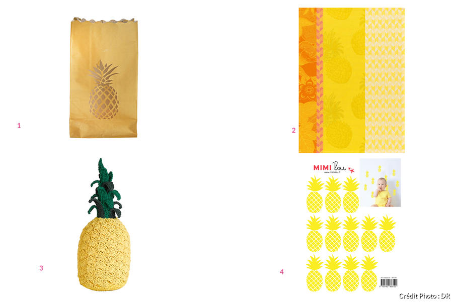 Shopping ananas