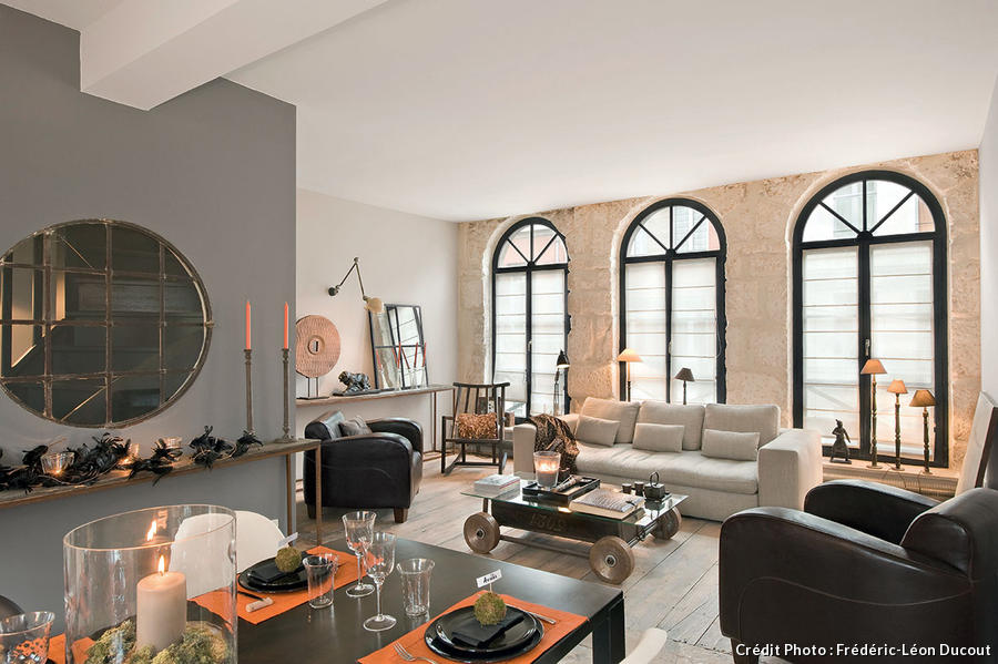 Comment donner du style votre salon i maison cr ative - Amenagement salon en l ...