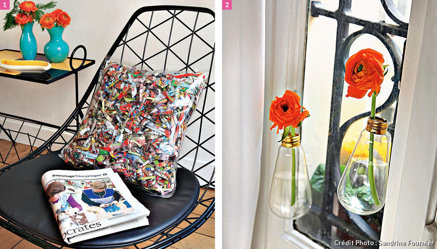 Id e d co r cup d co recyclage diy maison cr ative for Astuce de decoration maison