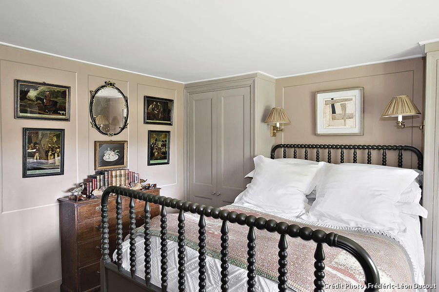 Chambre style cottage anglais images for Decoration cottage maison