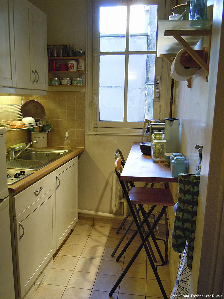 Am nagement petite cuisine gain de place transformer for Amenagement petite cuisine appartement