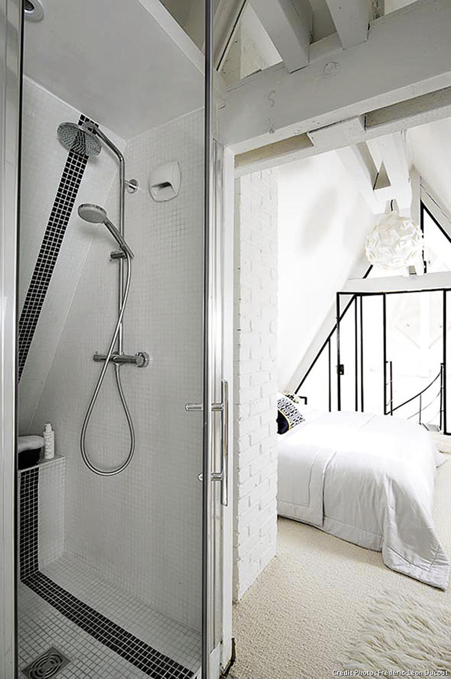 Loft Paris douche