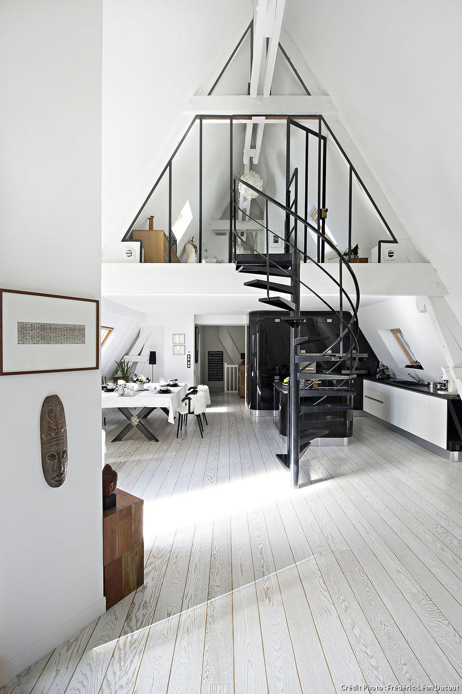 Les plus belles verri res maison cr ative for Modern a frame house