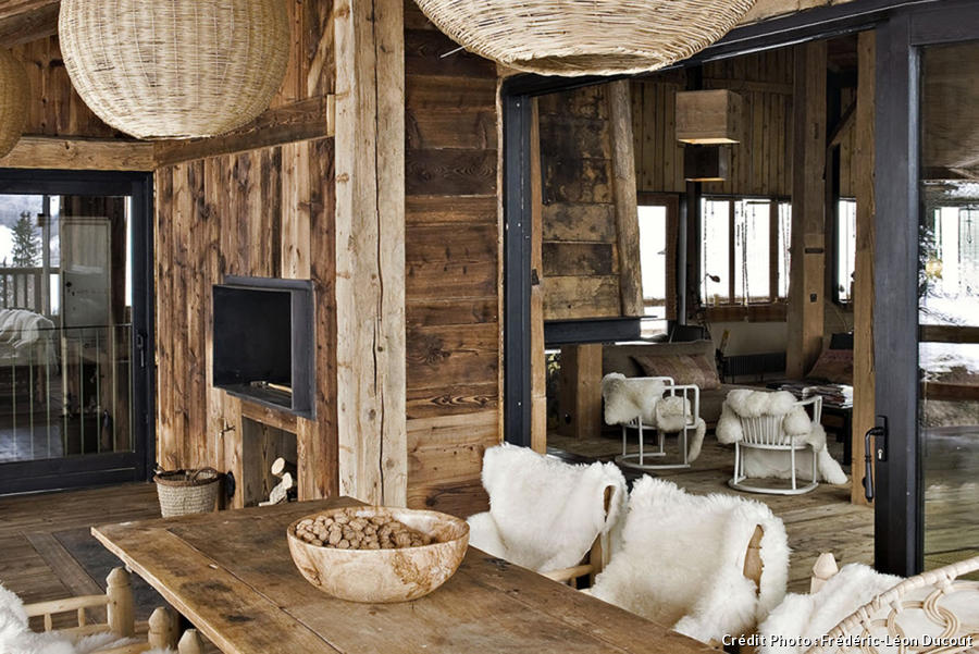 Chalet les plus belles id es d co s 39 approprier for Decoration interieur style chalet