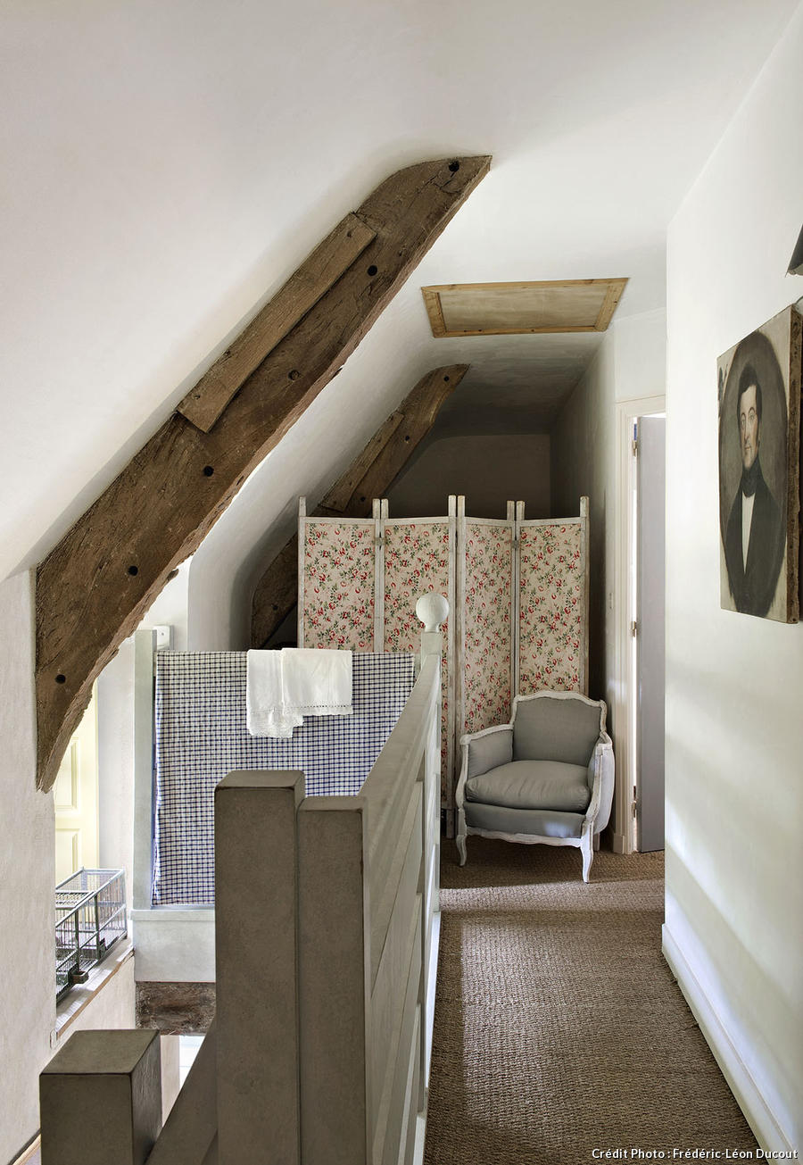 Shabby and charme una splendida casa colonica nel morbihan for Interieur french