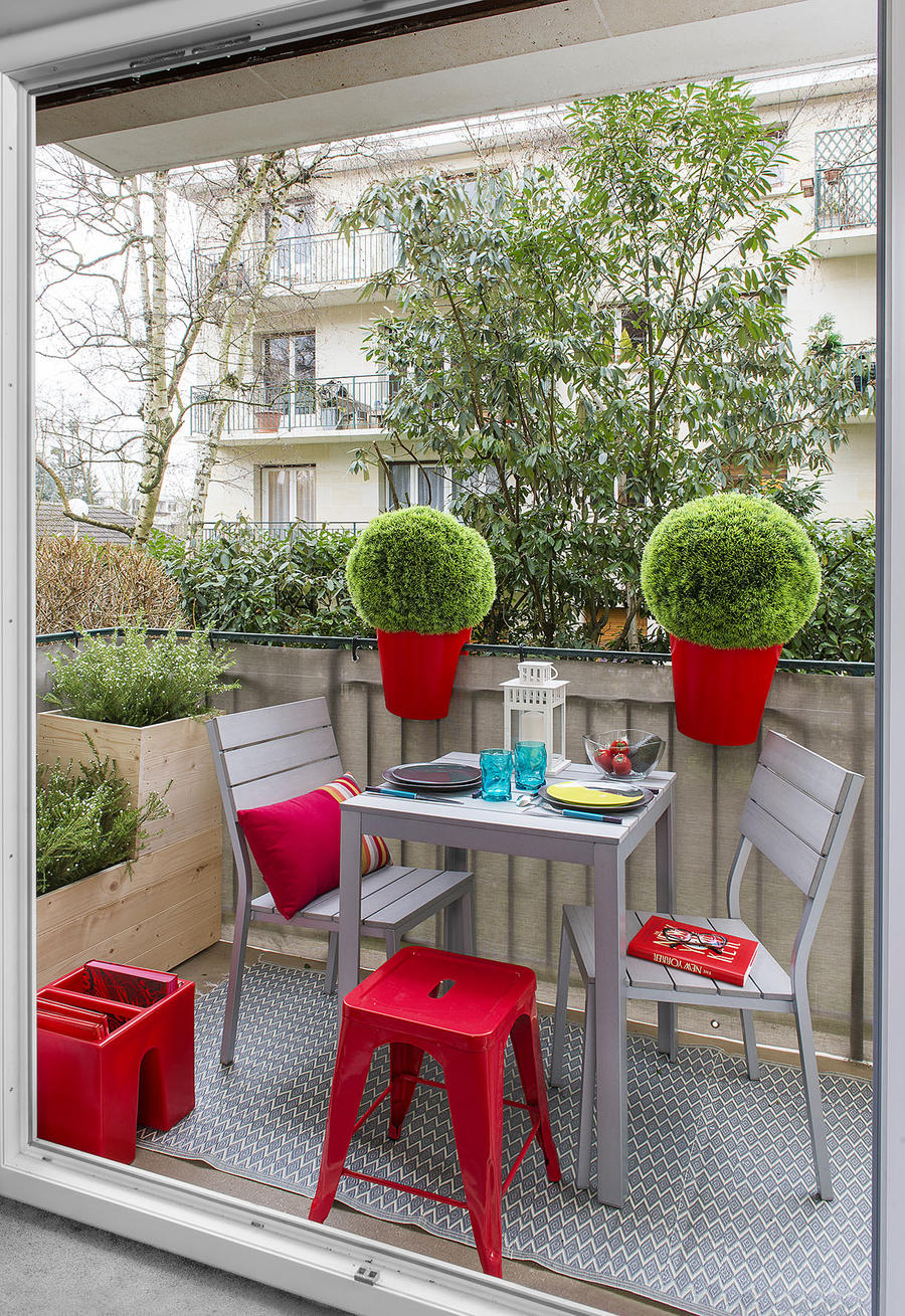 Trois id es d co pour am nager un balcon maison cr ative for Amenager un petit coin terrasse