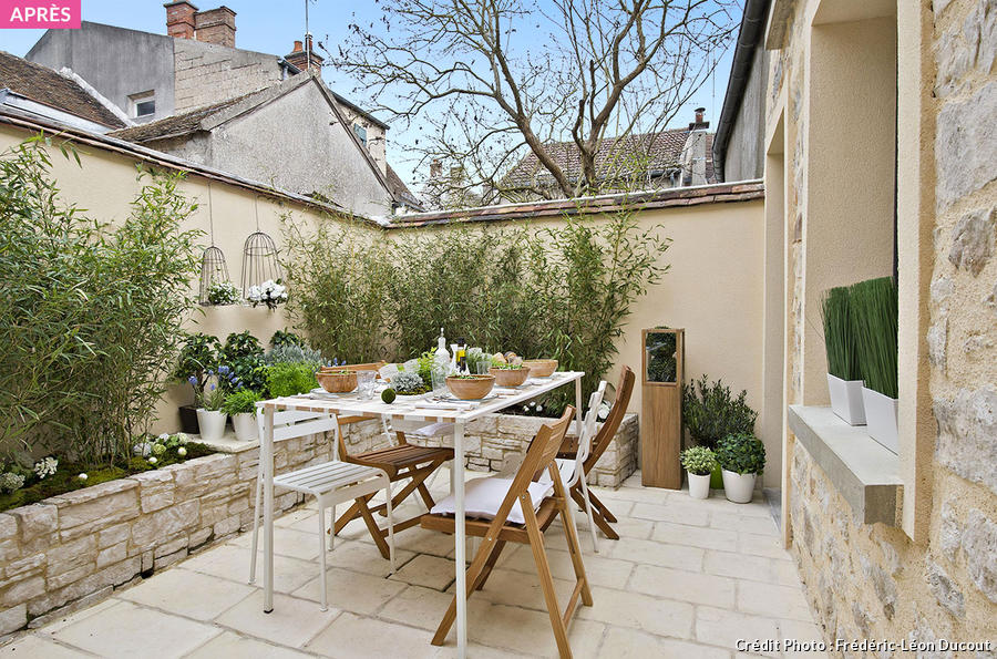 D co terrasse 15m2 for Amenager sejour 15m2
