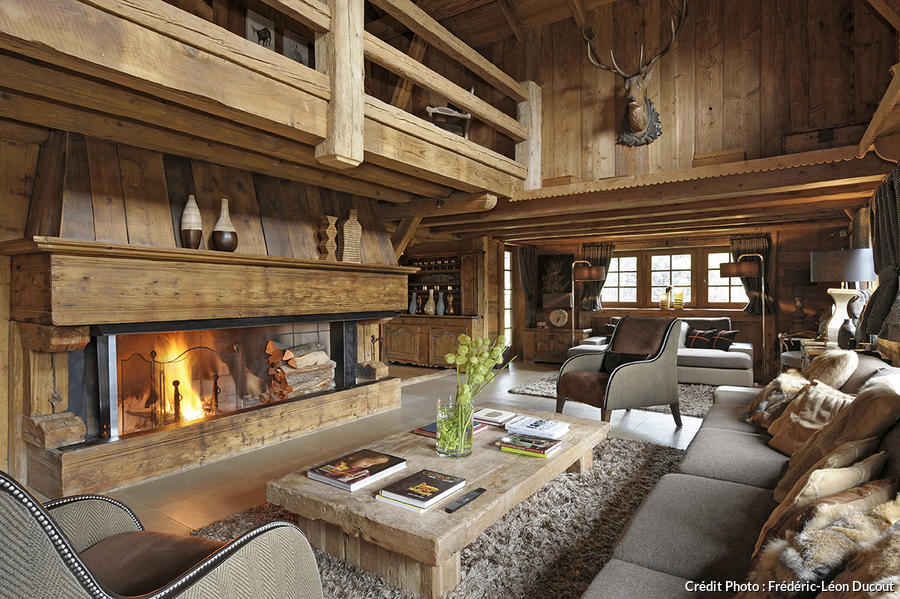 Chalet les plus belles id es d co s 39 approprier maison cr ative for Photo decoration interieure chalet