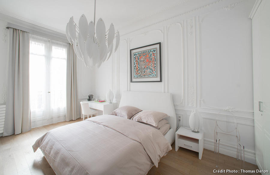 d coration blanche chambre blanche salon blanc actus maison cr ative. Black Bedroom Furniture Sets. Home Design Ideas