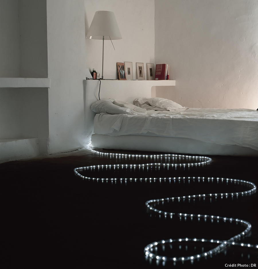 guirlandes lumineuses 10 d clinaisons autour des leds maison cr ative. Black Bedroom Furniture Sets. Home Design Ideas