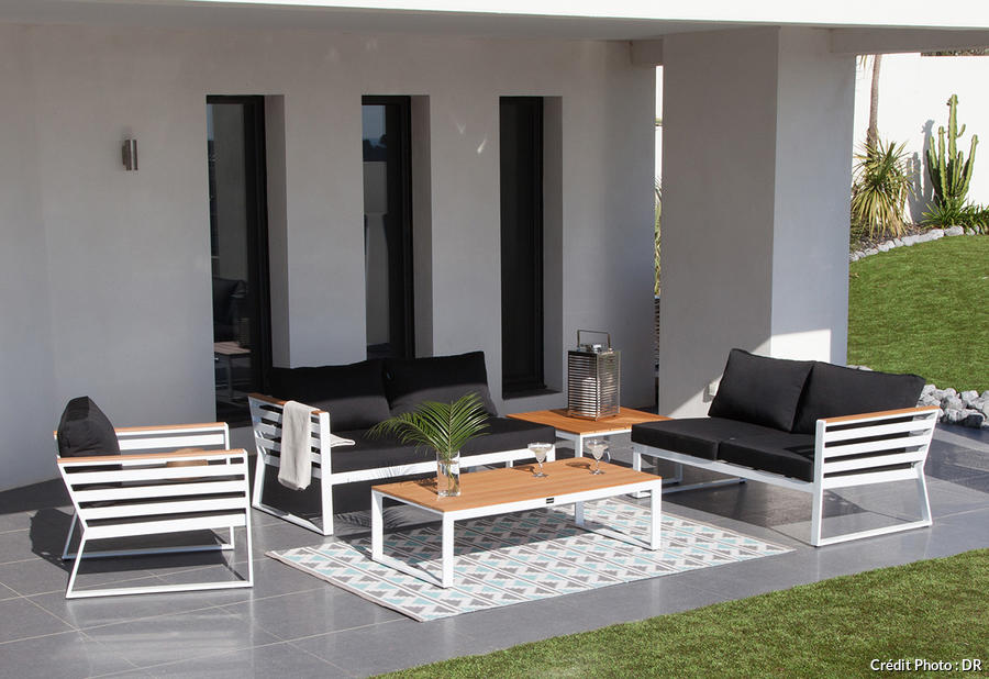 tapis d 39 ext rieur les 20 plus beaux pour terrasse et jardin. Black Bedroom Furniture Sets. Home Design Ideas