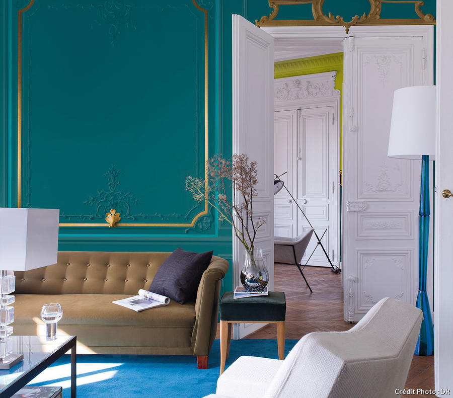 Dulux lance sa collection couture maison cr ative for Quelle couleur peindre son salon