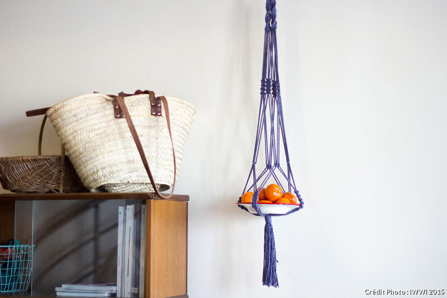 Suspension Macrame Tuto Facile En 5 Etapes Diy Maison Creative
