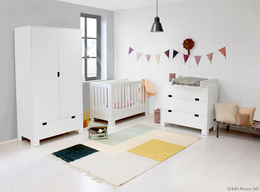 Awesome meuble rangement chambre bebe pictures home design ideas for Lit ado gara c2 a7on