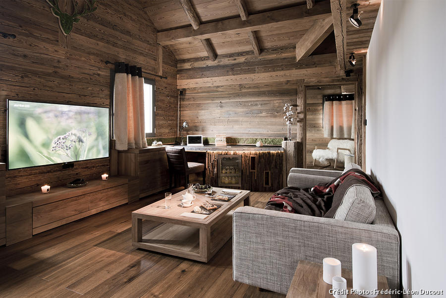 Rock 39 n roll altitude au chalet des rhodos maison cr ative for Interieur de chalet