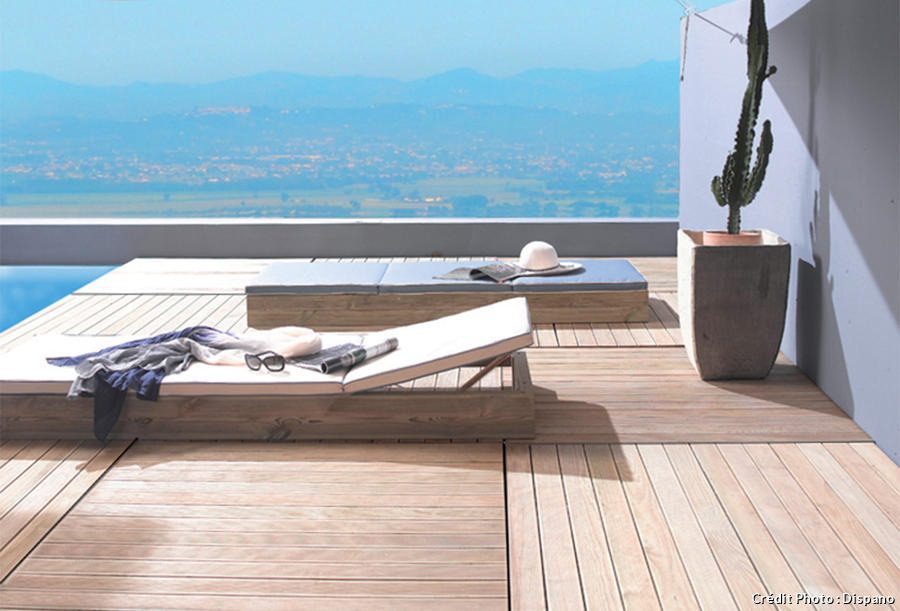nettoyer sa terrasse bois pierre carrelage b ton. Black Bedroom Furniture Sets. Home Design Ideas