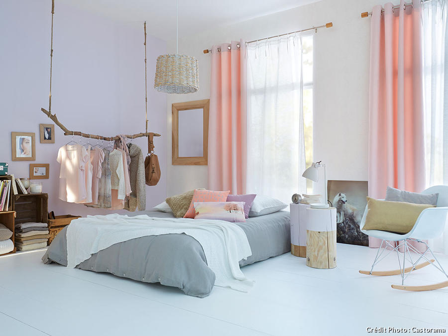 couleur corail l int grer sa d co salon cuisine chambre maison cr ative. Black Bedroom Furniture Sets. Home Design Ideas