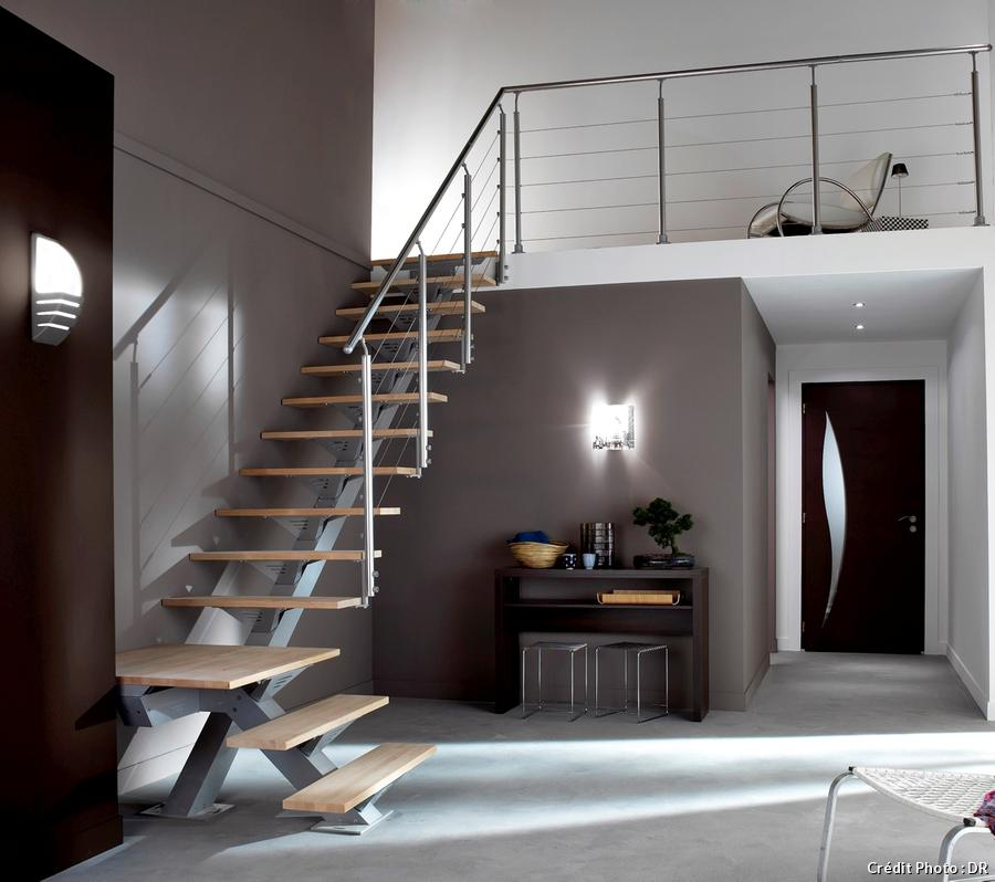 escalier lapeyre. Black Bedroom Furniture Sets. Home Design Ideas