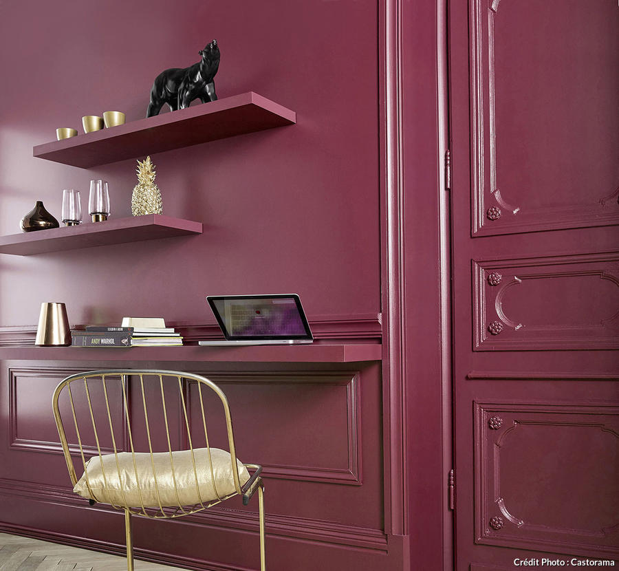 peinture rouge framboise be38 jornalagora. Black Bedroom Furniture Sets. Home Design Ideas