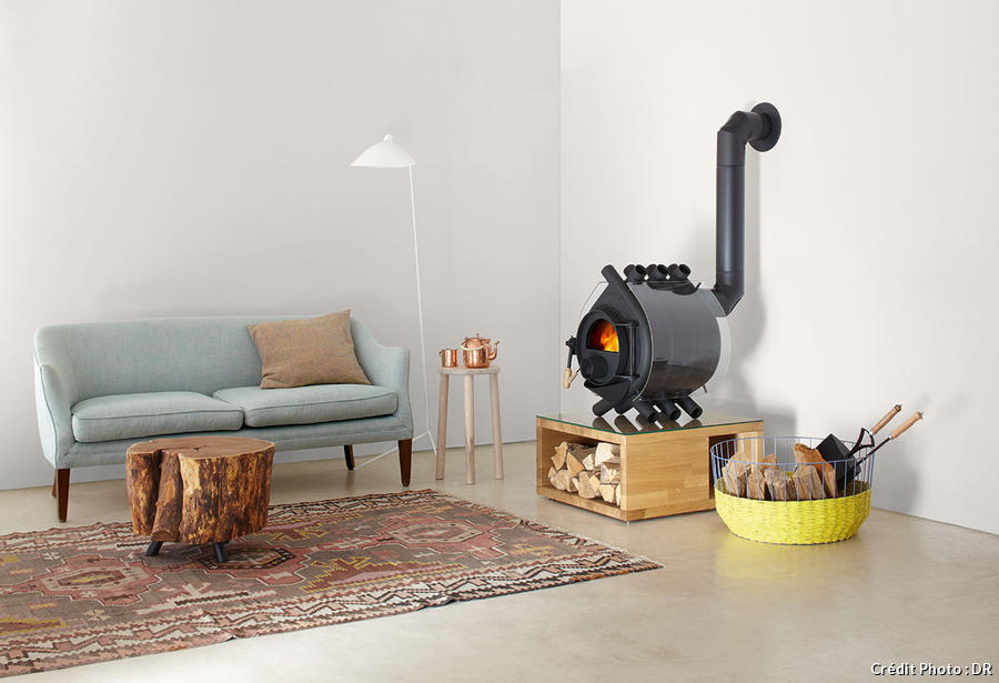 poele a bois design et contemporain nos suggestions maison cr ative