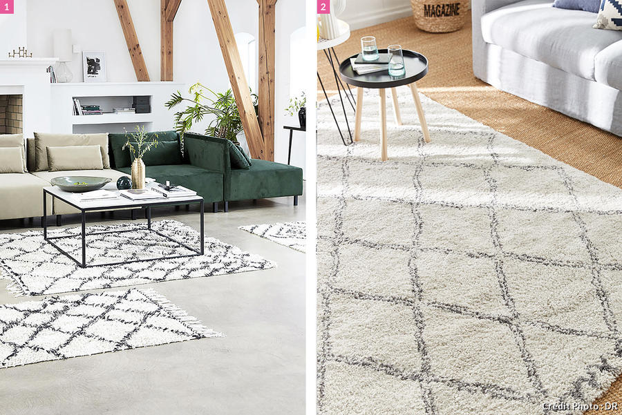 Un tapis berb re dans son salon pour une ambiance cosy - Made in design tapis ...