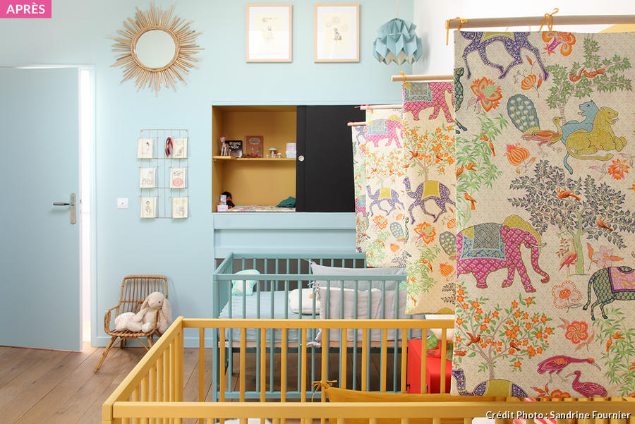 Stunning amenagement chambre 2 enfants photos for Amenagement chambre petite fille