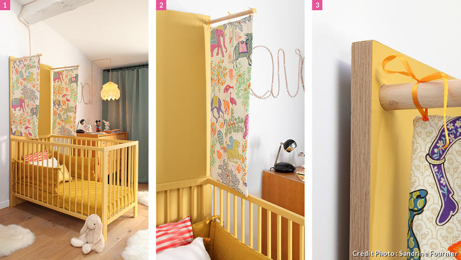 am nager une chambre pour 2 enfants 3 tapes cl s maison cr ative. Black Bedroom Furniture Sets. Home Design Ideas