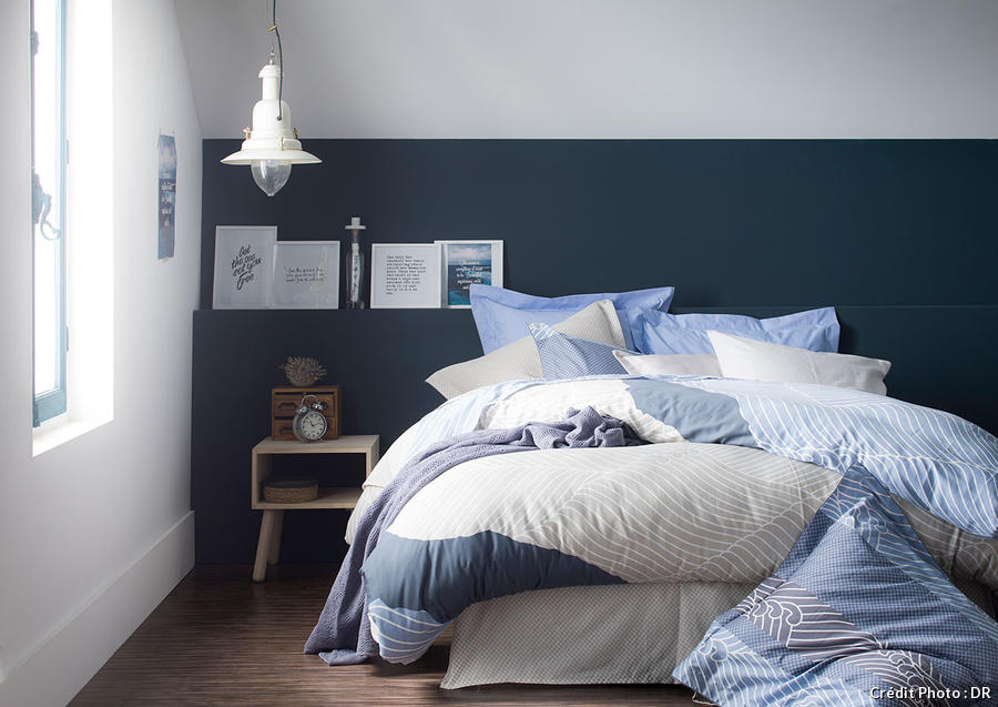 20 inspirations bleu marine pour la maison i maison cr ative. Black Bedroom Furniture Sets. Home Design Ideas