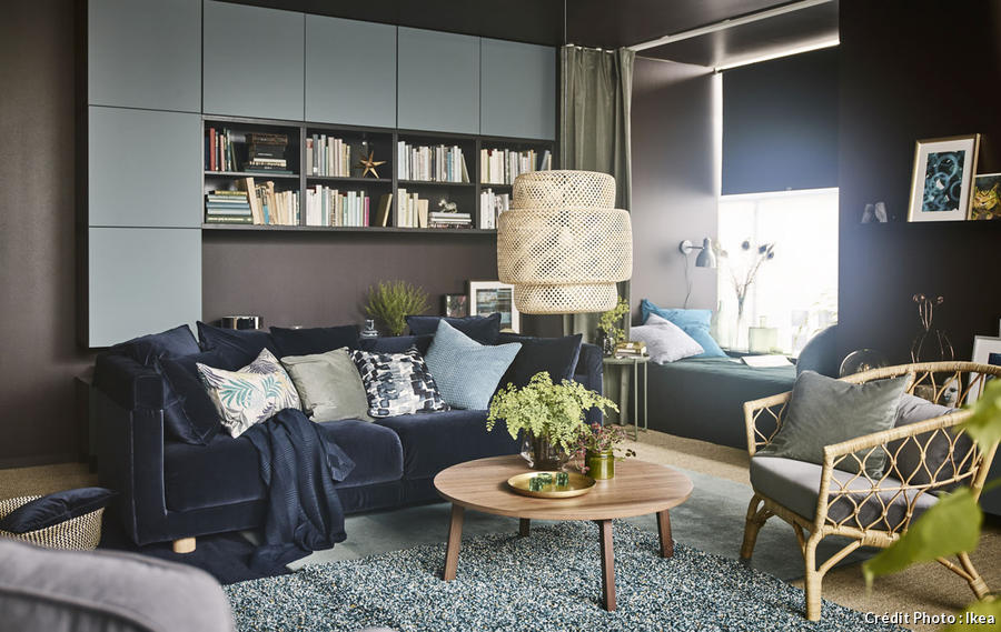 comment cr er un salon cocooning et cosy 10 astuces maison cr ative. Black Bedroom Furniture Sets. Home Design Ideas