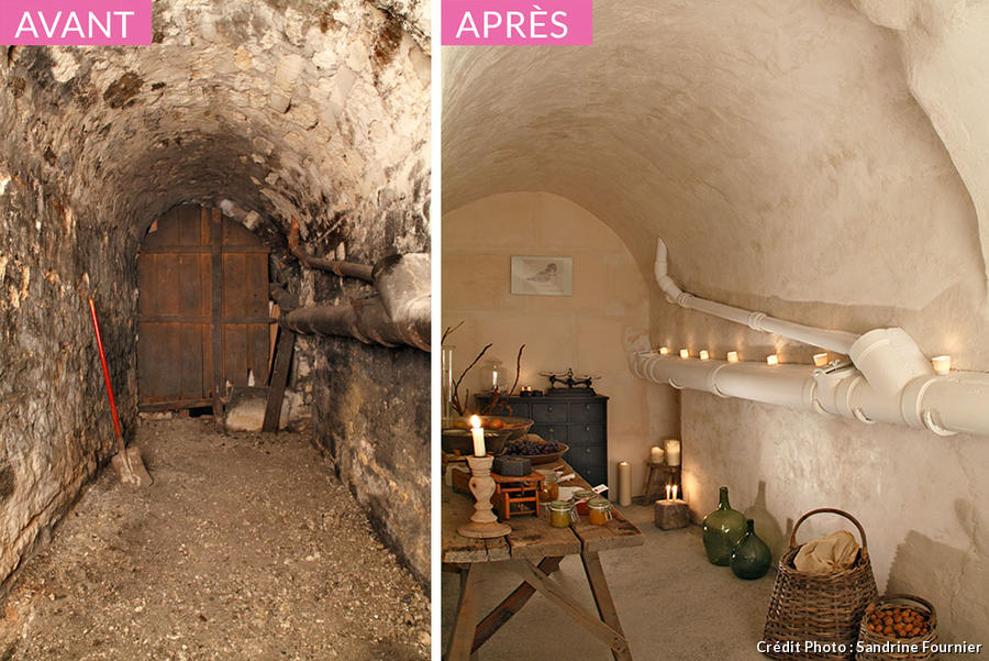 Am nagement cave vout e transformation relooking maison cr ative for Amenager sa cave