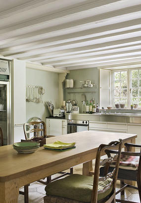 Une demeure lilloise so british maison cr ative for Cuisine cottage ou style anglais