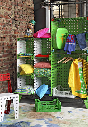 Dressing industriel métal Meccano Home