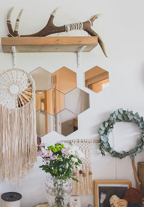 Fabriquer une suspension en macram - Comment faire une suspension en macrame ...