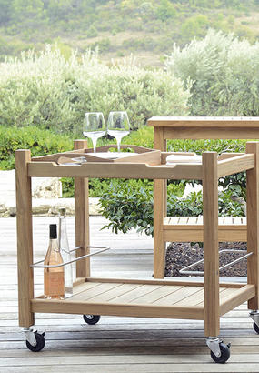 table roulante en bois