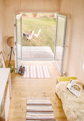 Une tiny house 100% naturelle