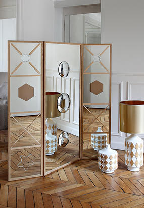 des bo tes de rangement effet miroir maison cr ative. Black Bedroom Furniture Sets. Home Design Ideas