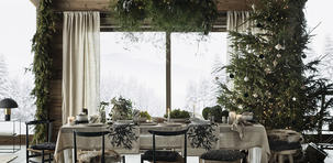 Table de Noël : misez sur le naturel
