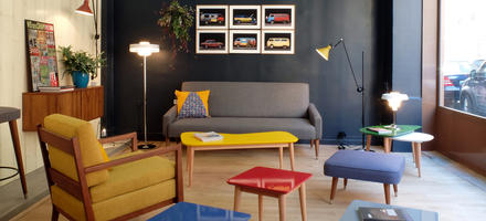 Boutique Kann Design aux Batignoles