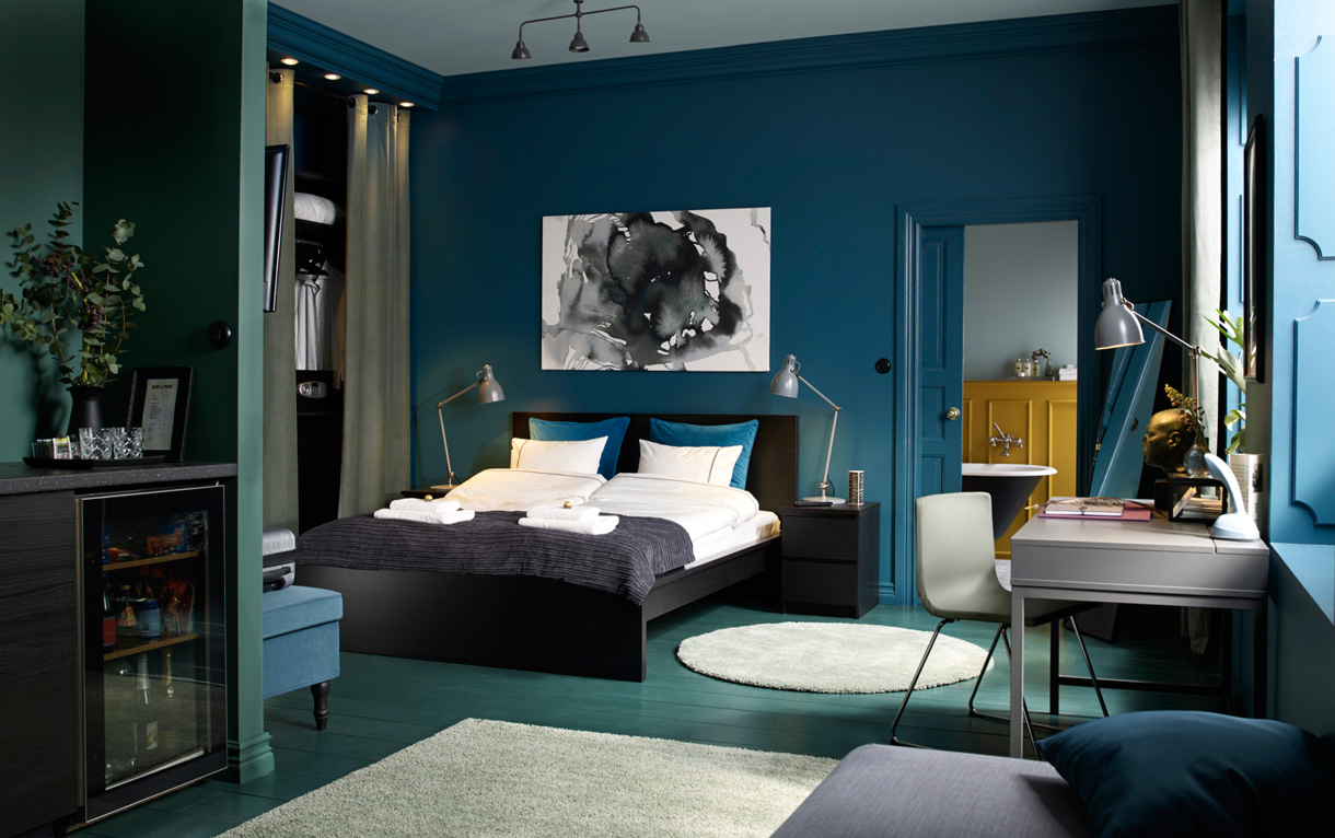 plume de paon 18 id es d co la 9e est top maison cr ative. Black Bedroom Furniture Sets. Home Design Ideas